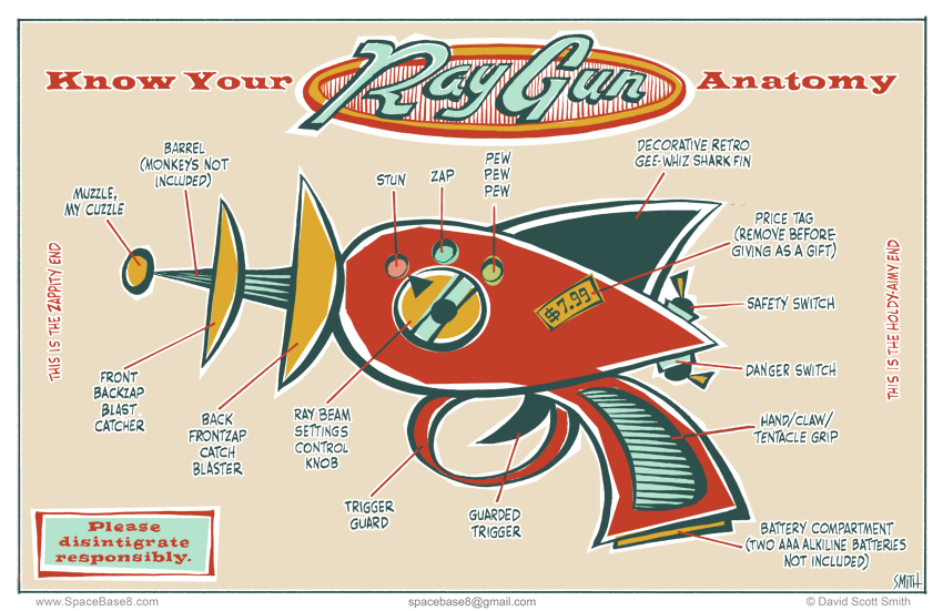 Ray Gun Anatomy