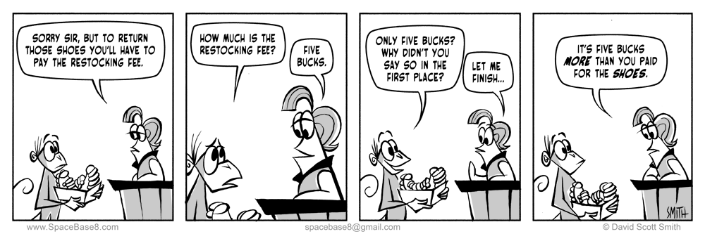 Restocking Fee