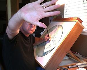 David Scott Smith, cartoonist