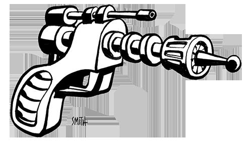 Hozer X-55 Raygun