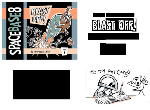 Blast Off! Artist Edition Info