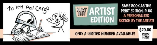 Space Base 8 Book 1: Blast Off! Artist Edition