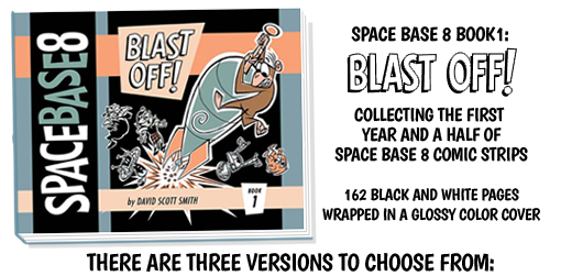 SPACE BASE 8 BOOK 1: BLAST OFF!