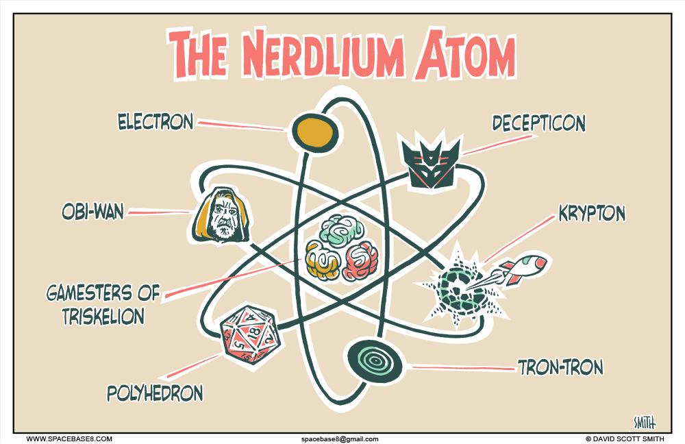 The Nerdlium Atom