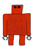 Another a-MAZE-ing robot by First Fan Dani